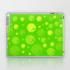 Bubblemagic - Lime Laptop & iPad Skin