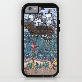 Sea Dogs iPhone Case