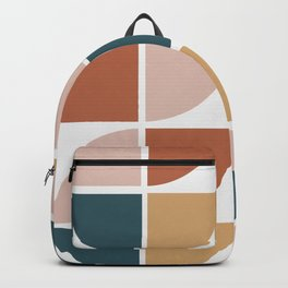 Mid Century Circles Backpack
