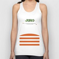 movie poster Tank Tops featuring Juno - Alternative Movie Poster by Stefanoreves