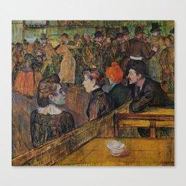 """Henri de Toulouse-Lautrec """"Ball at the Moulin de la Galette"""" Canvas Print"""