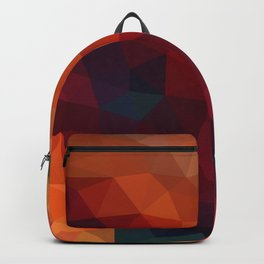 Burnt Jewel Low Poly Backpack
