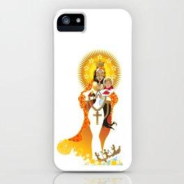 La Virgen de la Caridad del Cobre iPhone Case