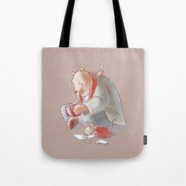 Ernest et Celestine Tote Bag