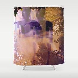 Awakening - overall Shower Curtain