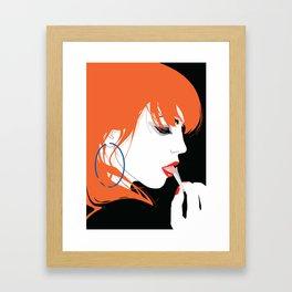 JENNA Framed Art Print