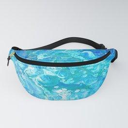 Aqua Ocean Blue Fanny Pack