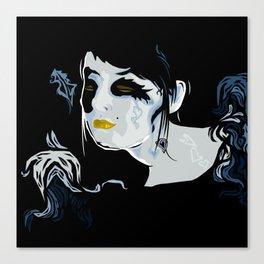 Dark Cupid Canvas Print