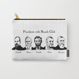 Presidents With Beards Club Carry-All Pouch