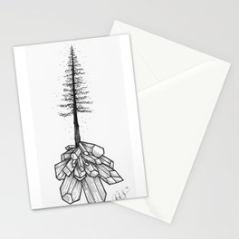 Crystallized Nature Stationery Cards
