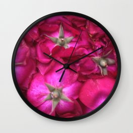 ROSE BACKS Wall Clock