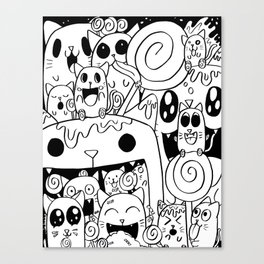 Lots of Lollies Canvas Print