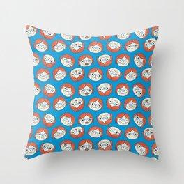 Pattern Project #13 / Mood Swings Throw Pillow