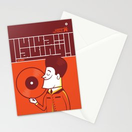 UNDO |Music to the people 08 Stationery Cards