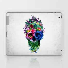 Floral Skull Laptop & iPad Skin