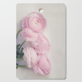 Pink Peonies Cutting Board