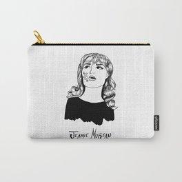 Jeanne Moreau Portrait Carry-All Pouch