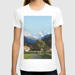 Swiss Cow Crossing T-shirt