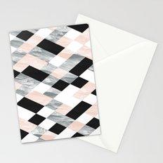 Pastel Scheme Geometry Stationery Cards