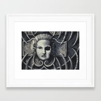 gothic Framed Art Prints featuring Gothic by Chris Kitzmiller