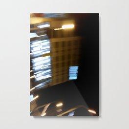 street lights speeding Metal Print