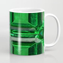 SPRING GREEN EMERALDS ART DECORATIVE  DESIGN Coffee Mug
