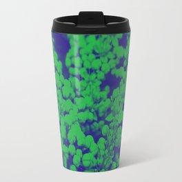Duotone Florals Travel Mug