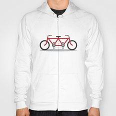 Broken Teamwork Tandem Bicycle Hoody