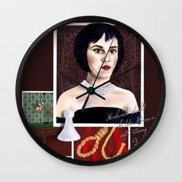 Mrs. White Wall Clock