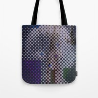 politics Tote Bags featuring politics by berg with ice