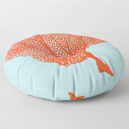 Coral Of The Sea Floor Pillow