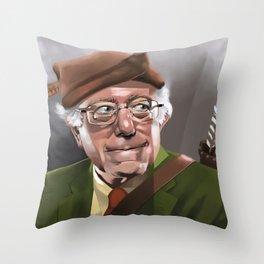 Bernie Hood Throw Pillow