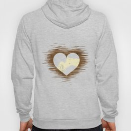 Horse Love Heart Stallion Yearling Foal Colt Gift  Hoody
