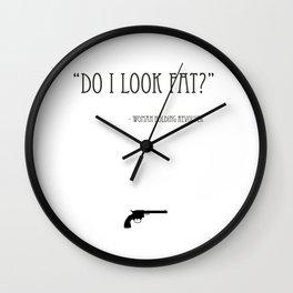 Do I Look Fat? Wall Clock