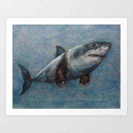 Jaws Claws Art Print