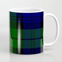 Scottish Campbell Tartan Pattern-Black Watch #2 Coffee Mug