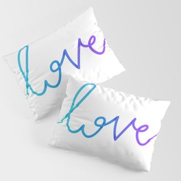 """Love"". Calligraphy word Pillow Sham"
