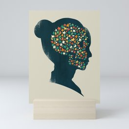 We are made of stardust Mini Art Print