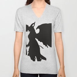 Demon love Unisex V-Neck