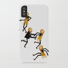 Lindy Hop Dancers iPhone X Slim Case
