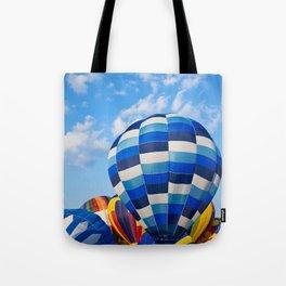 Vibrant Hot Air Balloons Tote Bag