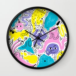All party! Wall Clock