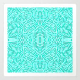 Radiate (Mint) Art Print