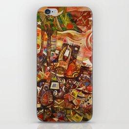 African-American Classical Masterpiece 'Devils Descending' by Alexander Skunder Boghossian iPhone Skin