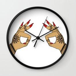Okay Wall Clock