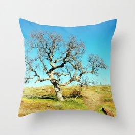 City Of Trees Throw Pillow