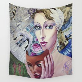 Lady Europe Wall Tapestry