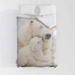 Polar Bear Love Comforters