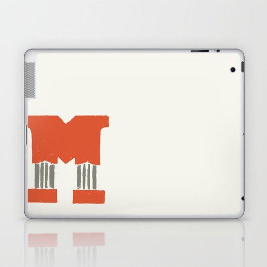 M Lettering Laptop & iPad Skin