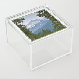 MOUNT LARRABEE FROM HEATHER MEADOWS Acrylic Box